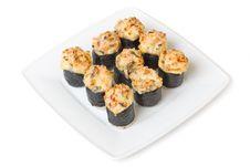 Free Baked Sushi Stock Images - 13680374