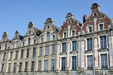 Arras Main Square In France Royalty Free Stock Images