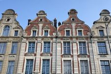 Arras Main Square In France Royalty Free Stock Photography