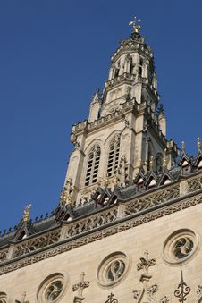 Arras Cathedral In France Stock Image