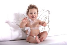 Free Angel Baby Stock Images - 13680574
