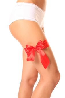 Free Bow Red 1 Stock Photo - 13680680