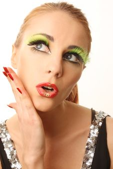 Free Eyeshadow 1 Royalty Free Stock Photography - 13680687