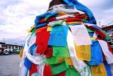 Free Prayer Flag Royalty Free Stock Images - 13680829