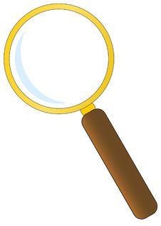 Free Magnifying Glass Stock Photo - 13681050