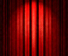 Free Red Theater Curtain Royalty Free Stock Photo - 13681185