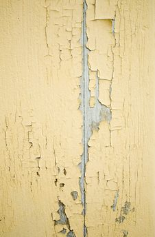 Free Yellow Ragged Wall Royalty Free Stock Photo - 13681315