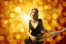Free Singer Stock Photography - 13681422