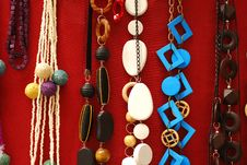 Necklaces Royalty Free Stock Photos