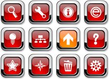 Web Icons. Stock Images