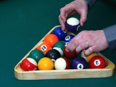 Free Billiard Balls Stock Image - 13681951