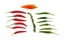 Free Hot Spices Royalty Free Stock Images - 13682449