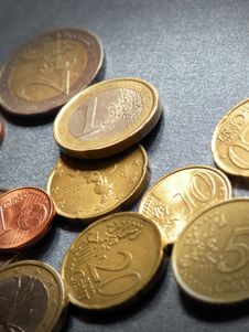Free Euro Coins Stock Photos - 13682473
