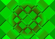 Green Rectangles Royalty Free Stock Photos