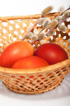 Free Painted Egg, Easter Still Life Stock Photos - 13682733