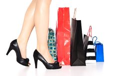 Free Shopper Royalty Free Stock Photo - 13683905