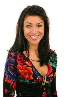 Free Smiling Girl Stock Image - 13683981