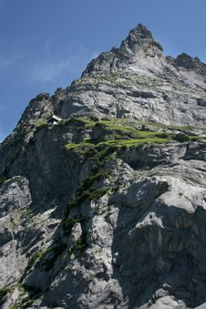 Free The Grindelwald Glacier Stock Photography - 13684182
