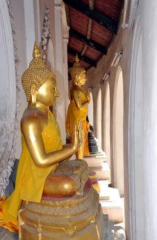 Free Nakhon Pathom, Thailand: Buddha Statues Stock Images - 13684214
