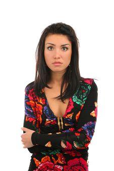 Free Sad Girl Royalty Free Stock Photography - 13684237