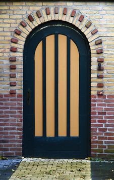 Free Striped Door Stock Images - 13684244