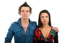 Free Sad Couple Royalty Free Stock Images - 13684249