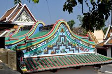 Free Nakhon Pathom, Thailand:  Chinese Temple Stock Image - 13684381