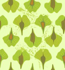 Free Leaves Pattern Royalty Free Stock Images - 13684789