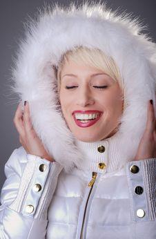 Free Woman Wearing Winter Jacket Stock Photo - 13685380