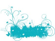 Free Green Floral Background Royalty Free Stock Photo - 13685945