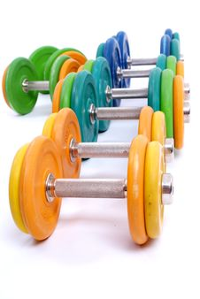 Free Dumbbells Stock Photo - 13686260