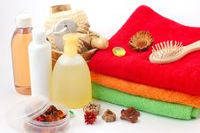 Free Body Care Items Royalty Free Stock Images - 13686299