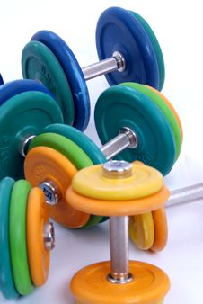 Free Dumbbells Stock Photos - 13686303