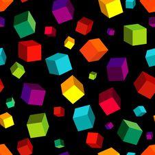 Free Seamless Black Pattern Royalty Free Stock Image - 13686316