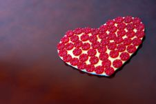 Free Heart Of Buttons Royalty Free Stock Image - 13686526