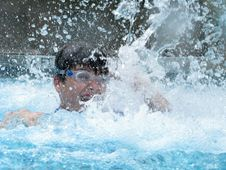 Free Splash Kid Royalty Free Stock Image - 13686766