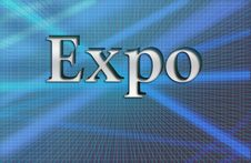 Free Expo, Illustration Royalty Free Stock Photography - 13686937
