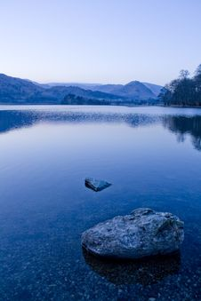 Free Grasmere At Dusk Royalty Free Stock Images - 13687029