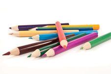 Free Pencil Background. Stock Photo - 13687370