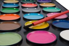 Free Paint Set. Royalty Free Stock Photography - 13687387