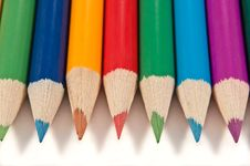 Free Pencil Background. Royalty Free Stock Photo - 13687465