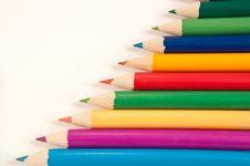 Free Pencil Background. Stock Photo - 13687480