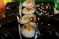 Free Sushi Royalty Free Stock Image - 13687536