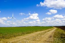 Free Windmill Conceptual Image. Stock Photos - 13687803