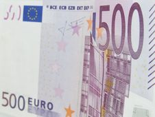 Euro Note Royalty Free Stock Image