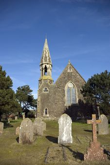 The Holy Spirit Church In Rye Harbour Royalty Free Stock Photo