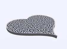 Free Heart&labyrinth Stock Photo - 13688350