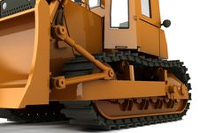 Free Bulldozer Royalty Free Stock Image - 13688756