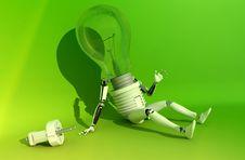 Free Lamp Royalty Free Stock Photo - 13689325