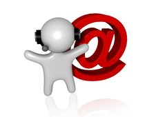 Free Web Communication 3d Stock Photography - 13689792